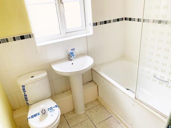 Bathroom of Burton Court, Burton Close, Darwen, Lancashire BB3