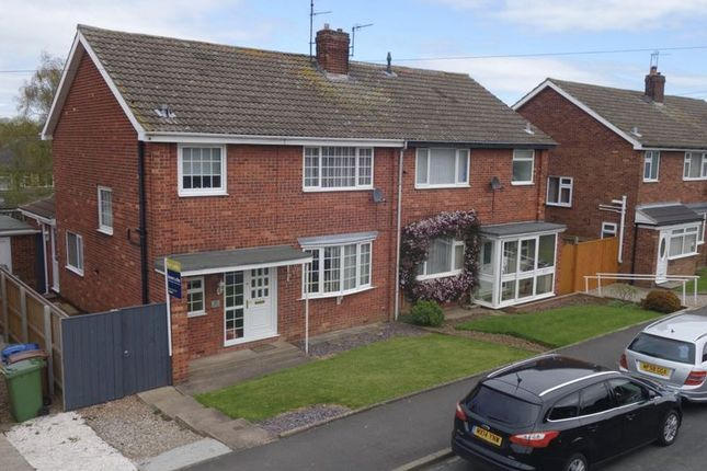 Thumbnail Semi-detached house for sale in Kirk Rise, Kirk Ella, Hull