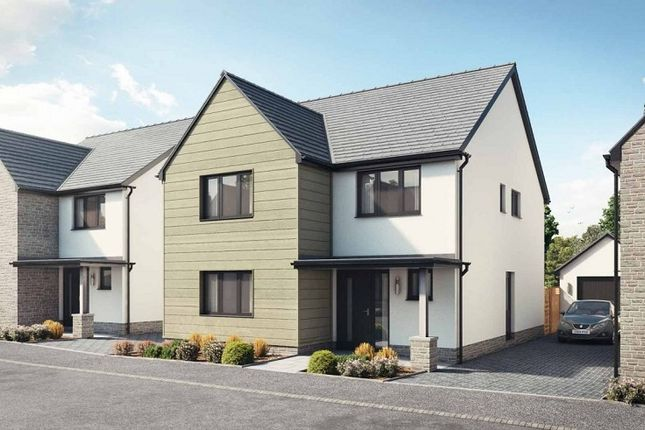 Thumbnail Detached house for sale in Plot 56, The Cennen, Caswell, Swansea