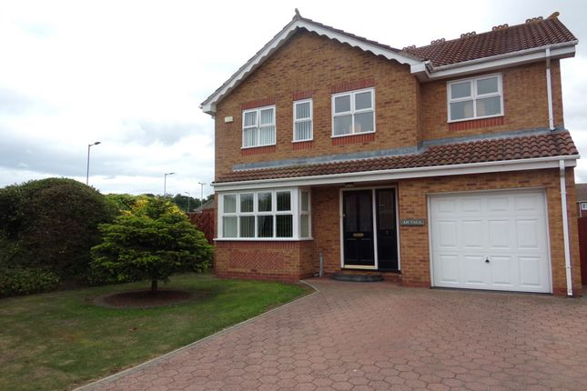 Thumbnail Detached house for sale in Conway Close, Bedlington