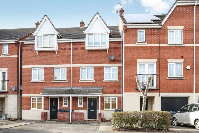 Thumbnail Town house for sale in Canterbury Close, Erdington, Birmingham