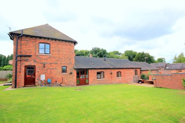 Thumbnail Barn conversion for sale in Queen Marys Drive, Barlaston, Stoke-On-Trent