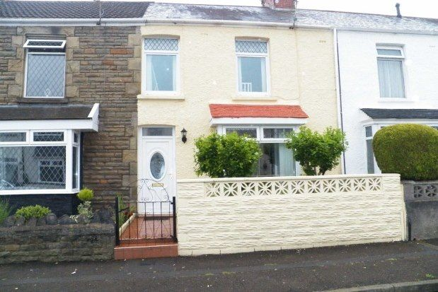 Thumbnail Terraced house to rent in Manor Road, Swansea