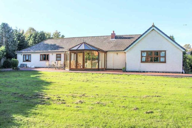 Thumbnail Detached bungalow for sale in Six Hills Road, Ragdale, Melton Mowbray