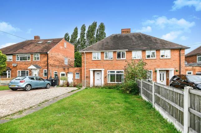 Thumbnail Semi-detached house for sale in Lingard Road, Sutton Coldfield, Birmingham, West Midlands
