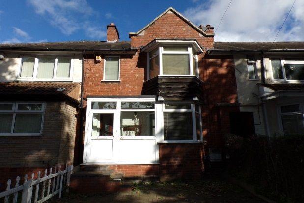 Thumbnail Property to rent in Fernhurst Road, Saltley, Birmingham