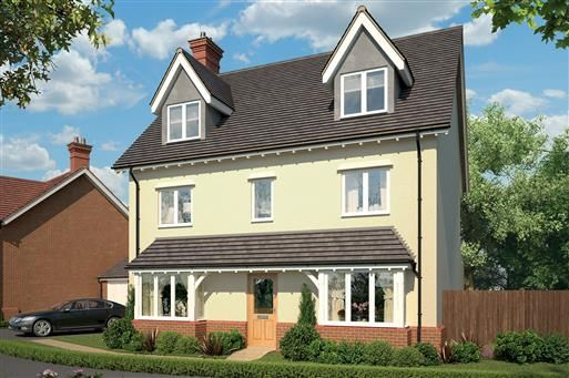 Thumbnail Detached house for sale in Tadpole Rise, Swindon