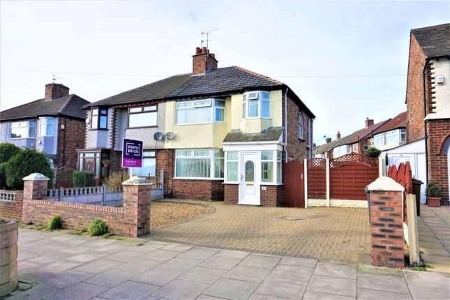Thumbnail Semi-detached house for sale in Church Road, Liverpool