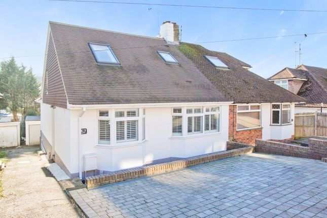 Thumbnail Semi-detached house for sale in Dale Crescent, Brighton