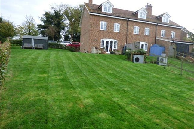 Thumbnail End terrace house for sale in Charlton Lane, West Farleigh, Maidstone, Kent
