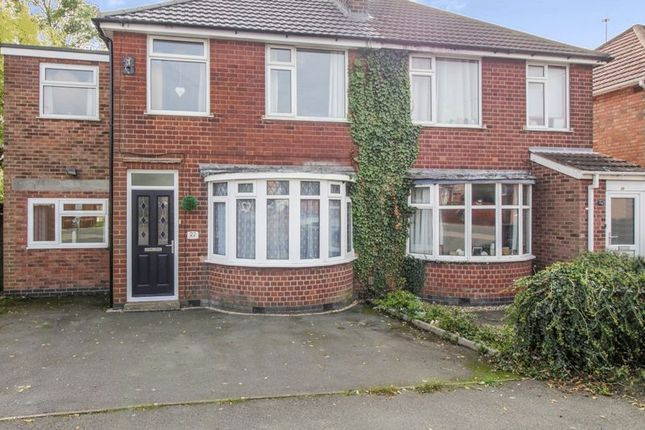 Thumbnail Semi-detached house for sale in Welcombe Avenue, Braunstone, Leicester