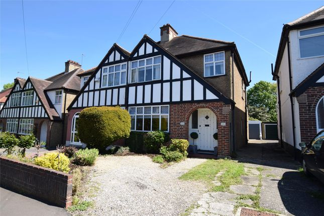Thumbnail Semi-detached house for sale in Derek Avenue, Wallington