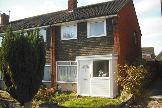 Thumbnail End terrace house to rent in Farley Close, Little Stoke, Bristol