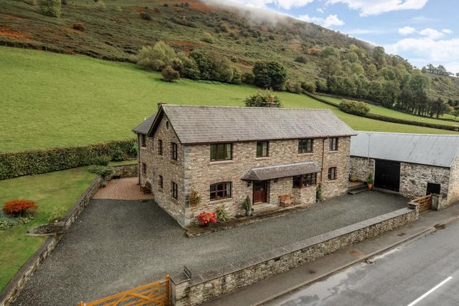 Thumbnail Detached house for sale in Aberedw, Builth Wells, Powys