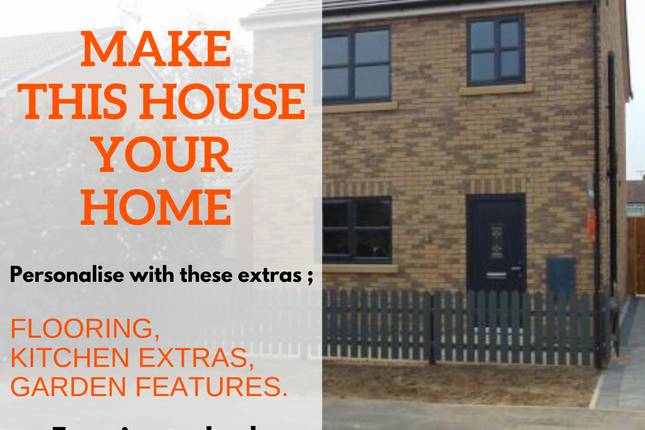 Thumbnail Detached house for sale in Plot 1 Coopers Cottage, Blackthorne Lane, Willerby, Hull