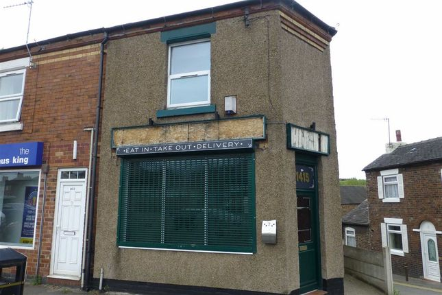 Thumbnail Retail premises for sale in Leek Road, Abbey Hulton, Stoke-On-Trent