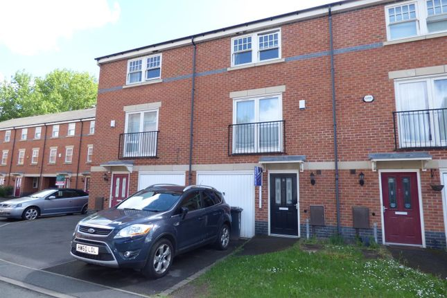 Thumbnail Town house to rent in Auriga Court, Derby
