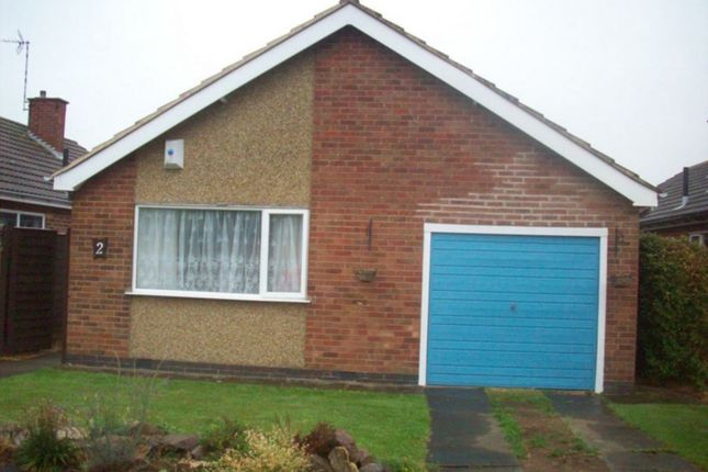 Thumbnail Bungalow to rent in Ashleigh Drive, Lutterworth
