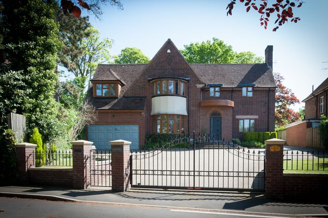 Thumbnail Detached house for sale in Tudor Hill, Sutton Coldfield