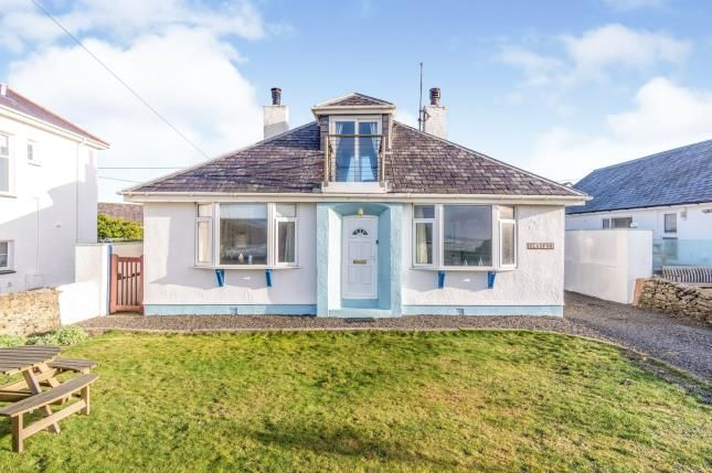 Thumbnail Detached house for sale in Lon Isallt, Trearddur Bay, Holyhead, Sir Ynys Mon