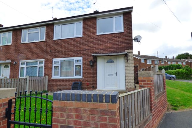 Thumbnail Semi-detached house to rent in Whitebeam Green, Pontefract, West Yorkshire