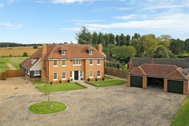 Thumbnail Detached house for sale in Mountnessing Lane, Doddinghurst, Brentwood