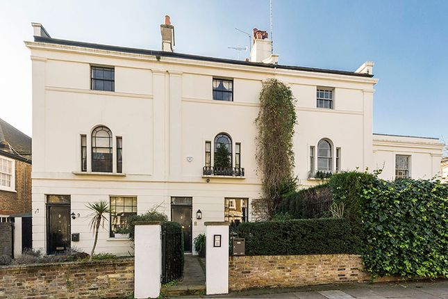 Thumbnail Terraced house for sale in Woronzow Road, St. John's Wood, London