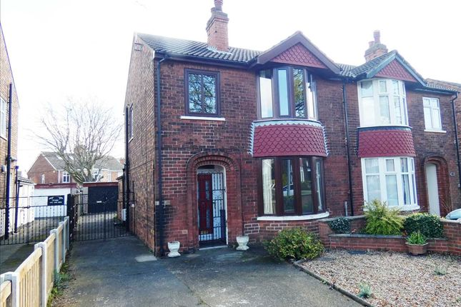 Thumbnail Semi-detached house for sale in Exeter Road, Scunthorpe