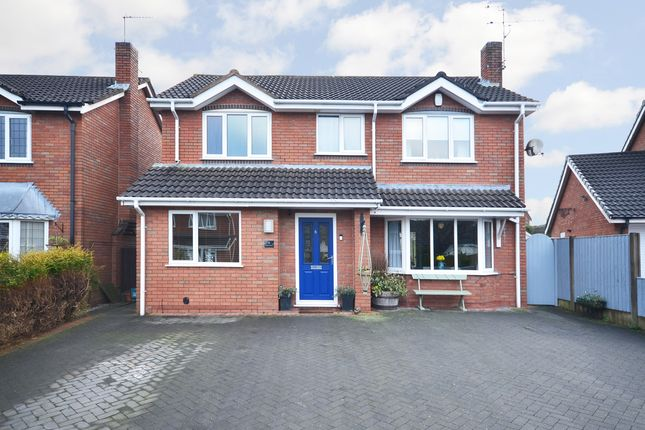 Thumbnail Detached house for sale in Hopedale Close, Westbury Park, Newcastle-Under-Lyme