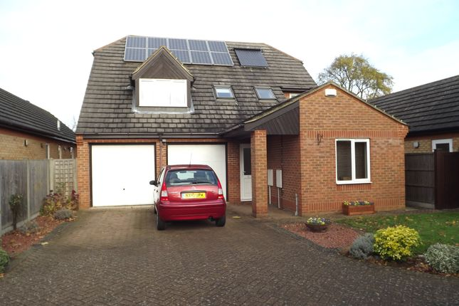 Thumbnail Detached house for sale in Bell Foundary Close, Gamlingay