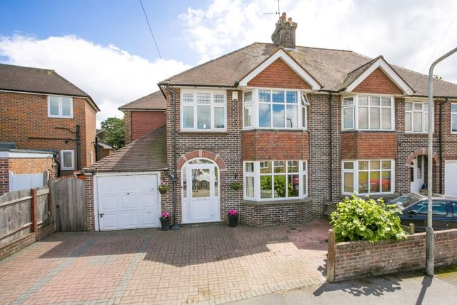 Thumbnail Semi-detached house for sale in Pinewood Gardens, Southborough, Tunbridge Wells