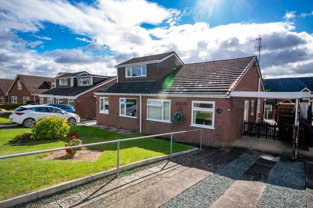 2 bed semi-detached bungalow for sale in 8 Maes Y Foel, Llansantffraid, Powys SY22