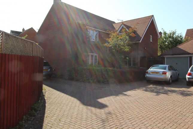 Thumbnail Detached house to rent in Bridgnorth Drive, Milton Keynes, Buckinghamshire