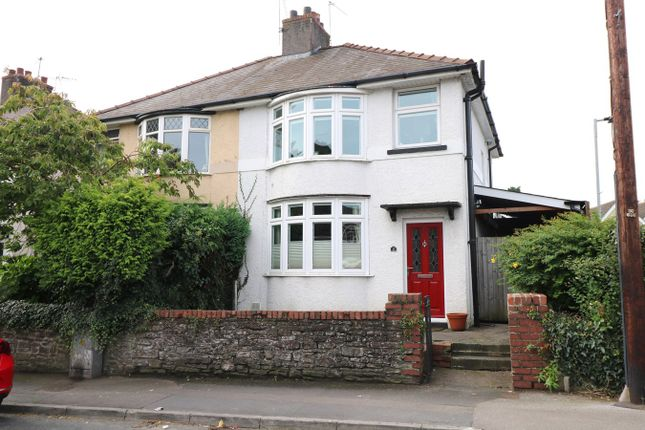 Thumbnail Semi-detached house for sale in Mill Street, Caerleon, Newport