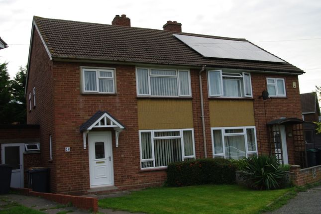 Thumbnail Semi-detached house to rent in The Boundary, Bedford