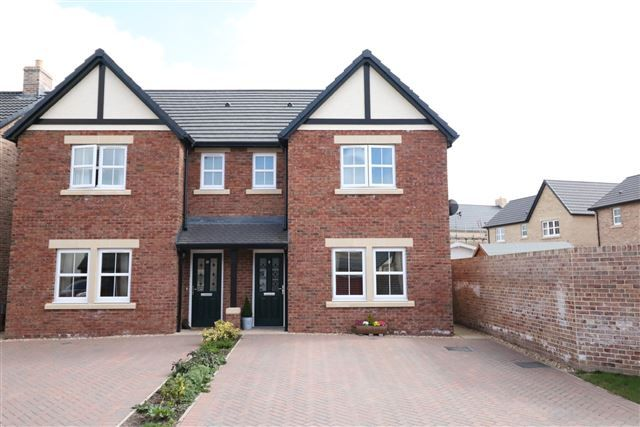 Thumbnail Semi-detached house for sale in Drawdykes Lane, Houghton, Carlisle, Cumbria
