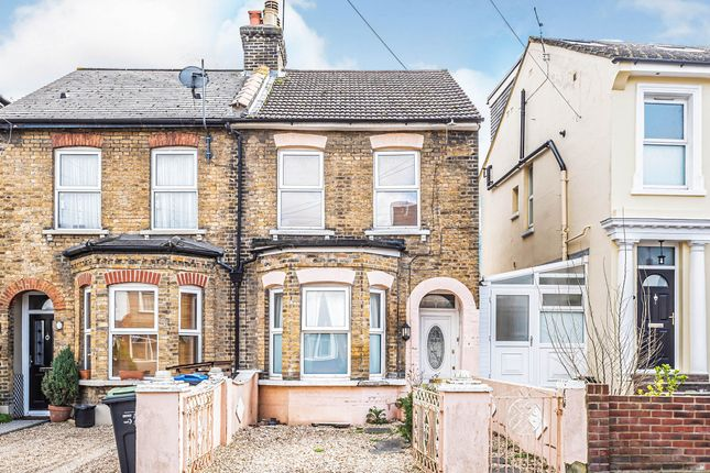 Thumbnail Semi-detached house for sale in Grant Road, Addiscombe, Croydon