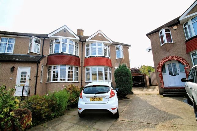 Thumbnail Semi-detached house for sale in Waltham Close, Crayford, Dartford