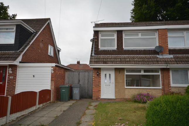 Thumbnail Semi-detached house to rent in Bramhall Drive, Eastham