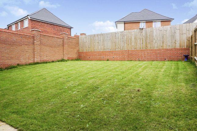 Rear Garden of Henshall Drive, Chellaston, Derby DE73