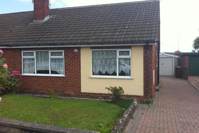 Thumbnail Semi-detached bungalow to rent in Roseacre Lane, Blythe Bridge, Stoke-On-Trent