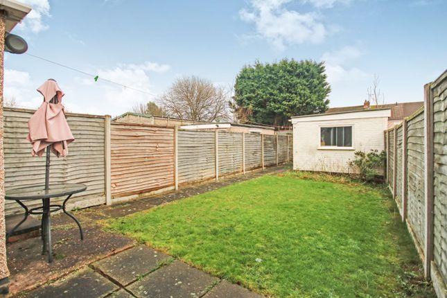 Rear Garden of Birchfield Road, Coventry CV6