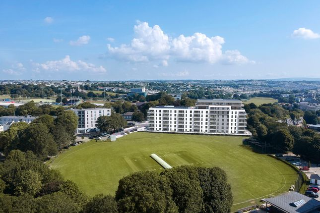 Thumbnail Flat for sale in Plot 2-02 Teesra House, Mount Wise, Plymouth