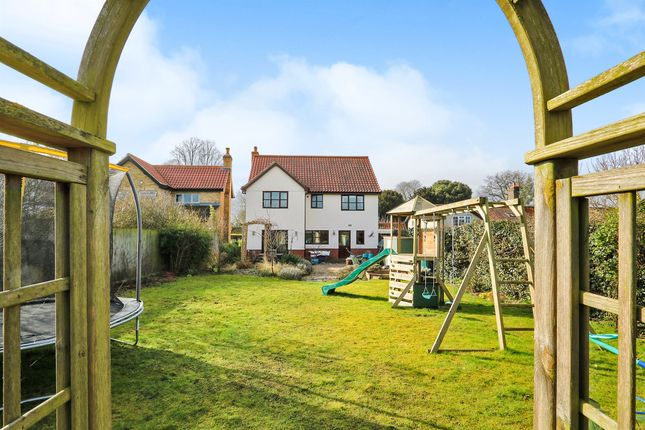 Thumbnail Detached house for sale in The Street, Caston, Attleborough