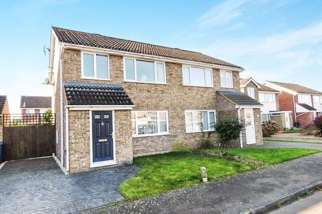 3 bed semi-detached house for sale in Robert Avenue, Somersham, Huntingdon