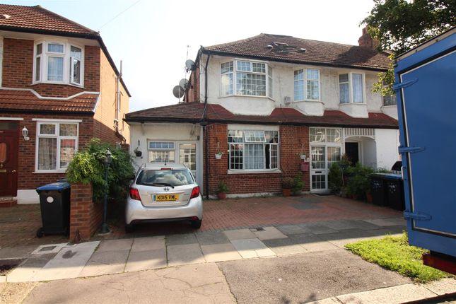 Thumbnail End terrace house for sale in Princes Avenue, London