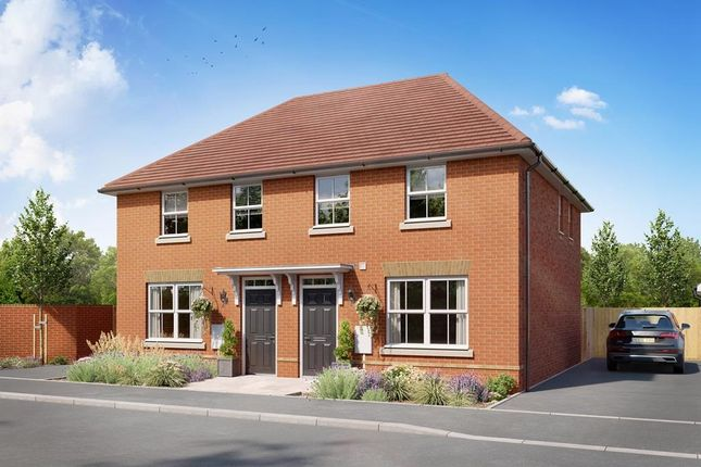 """3 bed semi-detached house for sale in """"Archford"""" at Bearscroft Lane, London Road, Godmanchester, Huntingdon PE29"""
