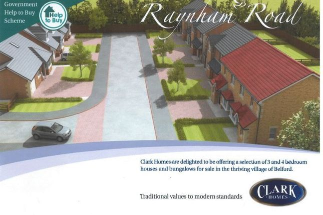 Thumbnail Detached house for sale in Belford, Raynham Road, Plot 36, The Bamburgh