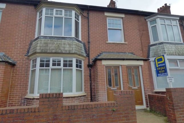 Thumbnail Flat to rent in Claremont Terrace, Blyth