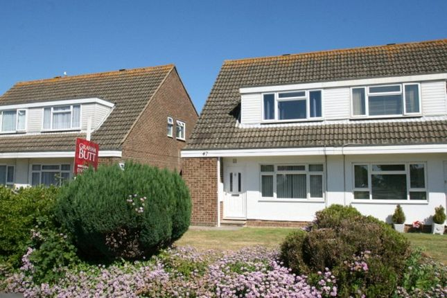 Thumbnail Semi-detached house to rent in Beaumont Park, Littlehampton